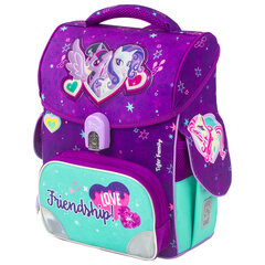 "Ранец TIGER FAMILY для начальной школы, Jolly, ""Twilight Sparkle & Rarity"", ЛИЦЕНЗИЯ, 36х31х19 см, 228974"